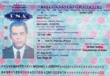 Michel Martelly And His U.S. Passport