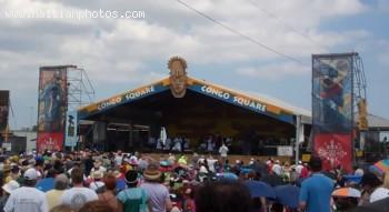 Rara band RAM New Orleans Jazz Fest 2011 Congo Square