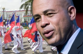 The Inauguration of Michel Martelly as President of Haiti