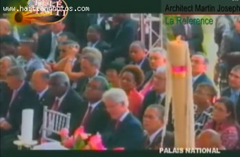 Michel Martelly Inauguration