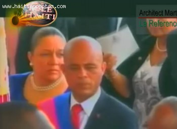 Michel Martelly Inauguration As President Of Haiti