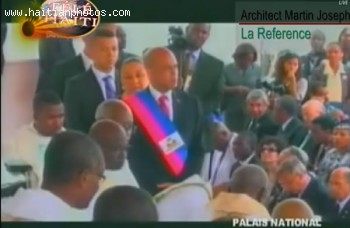 Michel Martelly As The New President Of Haiti