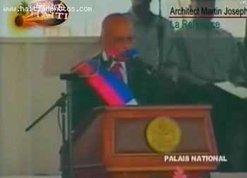 Michel Martelly The New President Of Haiti