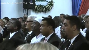 Inauguration Of Michel Martelly