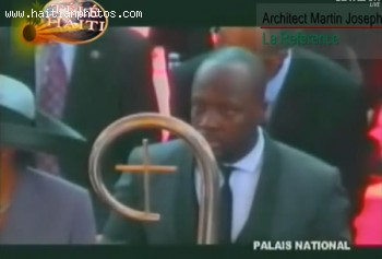 Wyclef Jean At The Inauguration Of His Friend Michel Martelly