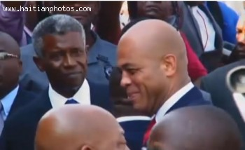 The Inauguration Of Michel Martelly In Haiti