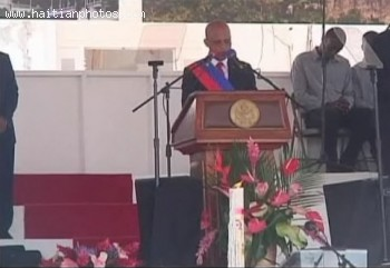 The Inauguration Of Michel Martelly