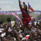 The Haitian Crowd At The Inauguration
