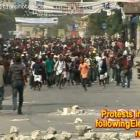 Protest Following Haiti Election