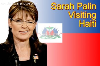 Sarah Palin Is Visiting Haiti With Evangelist Franklin Graham