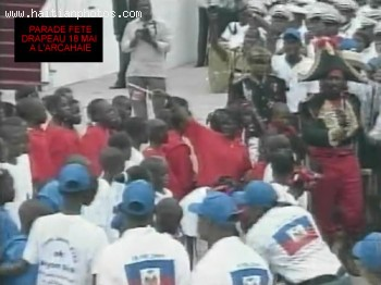 Parade For Haiti Flag Day At Arcahaie, Haiti