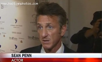 Sean Penn In Cannes Cinema For Peace Dinner To Support Haiti Relief