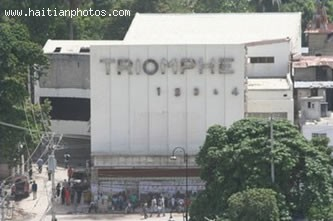 Haitian Movie Theater Triomphe