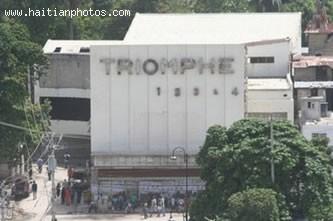 Haitian Movie Theater Triomphe