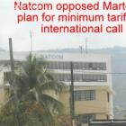 Natcom opposes Michel Martelly's plan for tariffs in international call