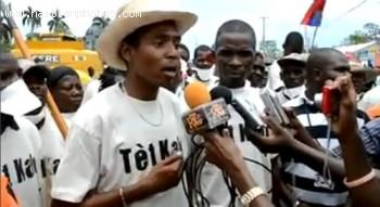 Movement Tet Kale - followers of Michel Martelly