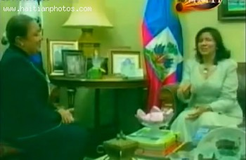 First Lady Sophia Martelly - Dominican First Lady Margarita Cedeno De Fernandez
