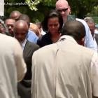 Michelle Obama Rene Preval