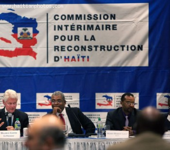Earthquake Reconstruction Commission In Haiti