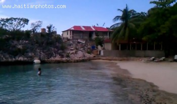 Welcome To Belly Beach In Cap-Haitian Located Near Labadee Haiti