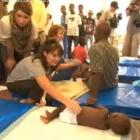 Sarah Palin Visiting Children In Haiti