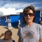 Sarah Palin Haiti Holding Hand Of A Child