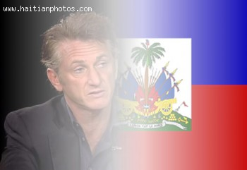 Sean Penn in Haiti