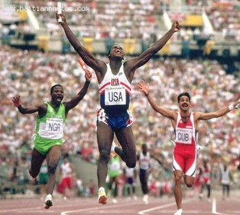 former American track and field athlete Carl Lewis to visit Haiti