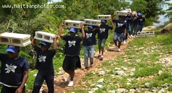Haitian Students Using Tactics From Henri Christophe To Build School