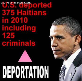 U.S. deported 375 Haitians that year, including 125 criminals