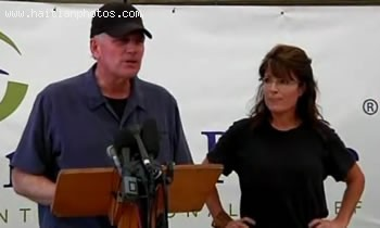 Sarah Palin With Rev. Franklin Graham