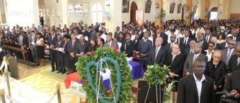 Funeral Of Guiteau Toussaint, Haitian Banker Assassinated