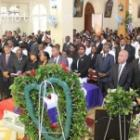 Funeral Of Guiteau Toussaint, Haitian Banker Assassinated