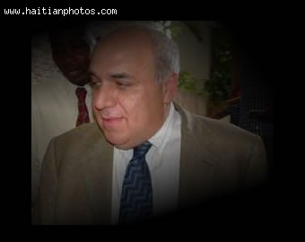 Reginald Boulos distributed arms to Haiti national police to create Private Army