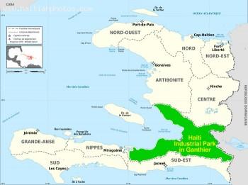 Haiti Industrial Park in Ganthier
