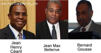 Haiti Next Prime Minister - Bernard Gousse, Jean Henry Céant or Jean Max Bellerive