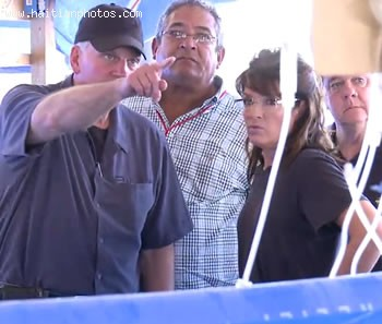 Sarah Palin With Rev. Franklin Graham In Haiti