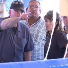 Sarah Palin With Rev. Franklin Graham In Haiti