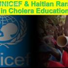 UNICEF and Haitian Rara in Cholera education