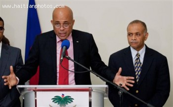 Michel Martelly Selects Bernard Gousse as Prime Minister