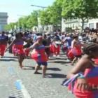 Haitian Rara at Carnaval Tropical de Paris at Champs-Elysees France