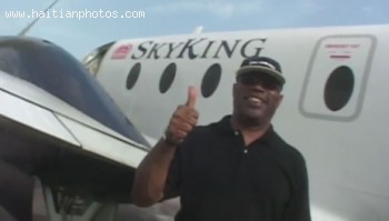 Sky King Airline in Turks & Caicos Islandsowned by Haitian Harold Charles