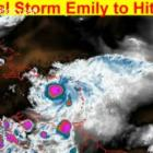 Tropical Storm Emily to Hit Haiti on Thursday