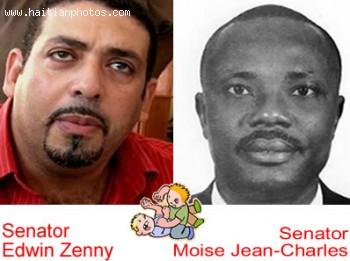 Senator Moise Jean-Charles called Senator Edwin Zenny Afranchi
