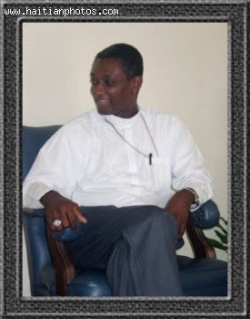 Mgr. Chibly Langlois the new bishop of Les Cayes