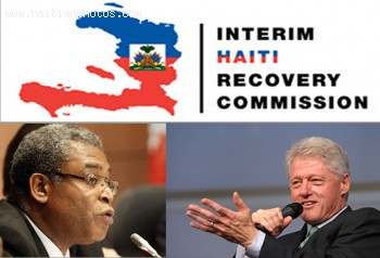 Plan to provide housing by Haiti Recovery Commission, IHRC