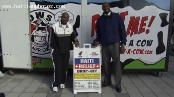 Alonzo Mourning and Tim Hardaway on Haiti Relief