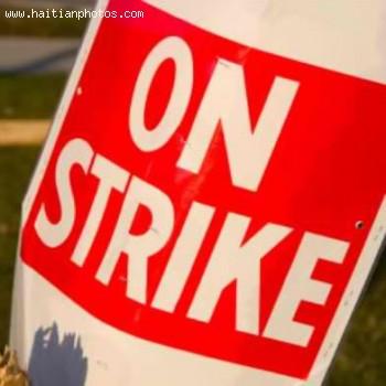 Hospital of the State University of Haiti(HUEH) on Strike