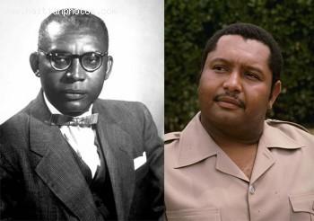 Francois Duvalier and Jean-Claude Duvalier