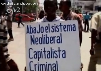 Haitian Protest Against MINUSTAH Presence In Haiti